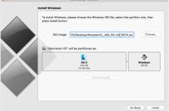 Windows podrá instalarse en Boot Camp sin necesidad de una copia en USB