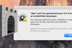 Un fallo de Gatekeeper podría permitir la instalación de apps maliciosas