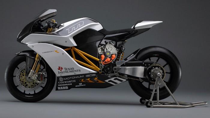 Moto eléctrica MissionR3