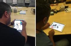 Disney prueba el iPad Pro y el Apple Pencil (y parece que les gusta)