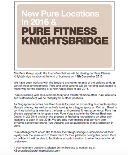mail Knightsbridge