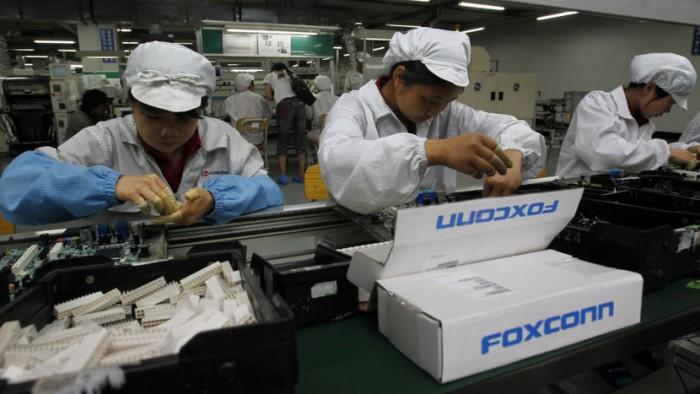 Empleados Foxconn