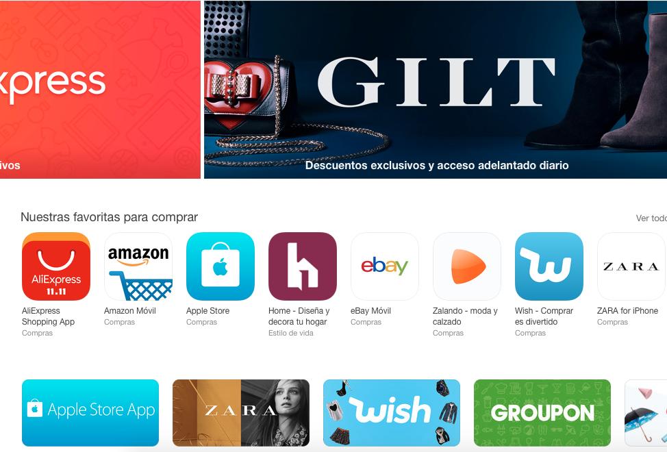 Vámonos de compras a la App Store (Y nunca mejor dicho)