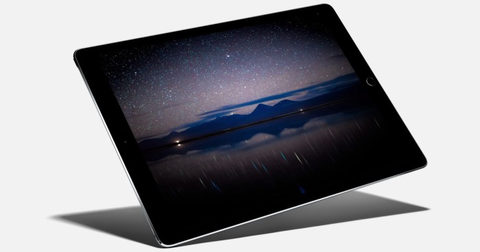 iPad Pro estrellas