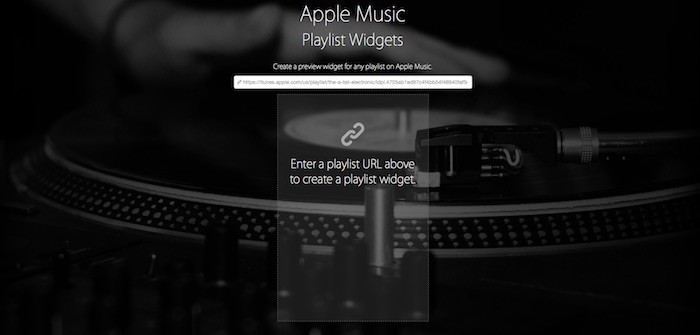 Apple-Music-Widget
