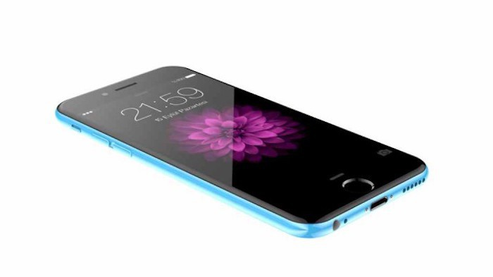 iPhone 6c azul