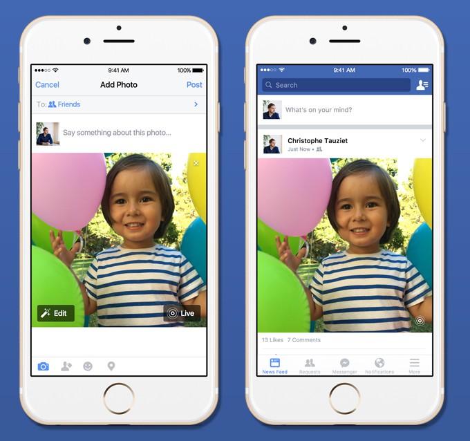 live-photos Facebook