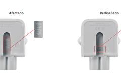 Apple decide retirar del mercado ciertos adaptadores del enchufe de corriente