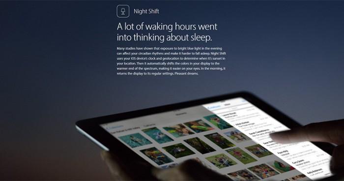 Modo Noche iOS 9.3