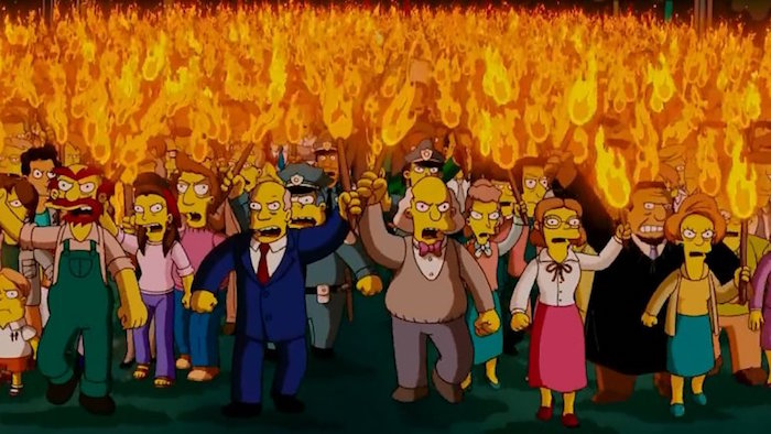 Simpsons-hoguera