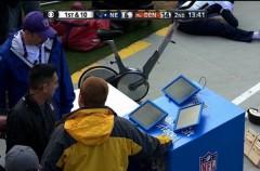 Las Microsoft Surface de la NFL fallan otra vez en mitad de partido de los playoffs de la Super Bowl