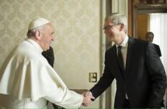 El provechoso viaje de Tim Cook a Europa y su reunión con el Papa