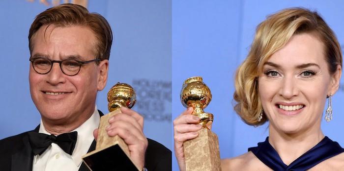 Winslet Sorkin Globos de Oro