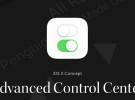 Un nuevo concepto de diseño nos muestra como podría  llegar a ser el Centro de Control en iOS 10