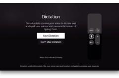 Con tvOS 9.2 el Apple TV incluirá dictado de texto incluso para nombres de usuario y contraseñas