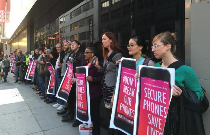 Manifestación Apple 2