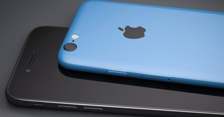 iPhone SE blue