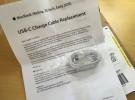 Los nuevos cables USB-C del programa de reemplazo empiezan a llegar a sus destinatarios