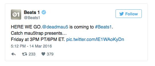 Deadmau5 Twitter