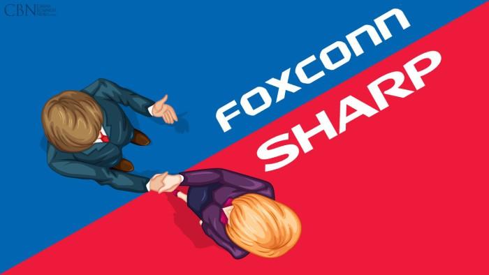 Foxconn compra Sharp