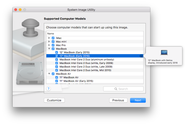 OS X server early 2016