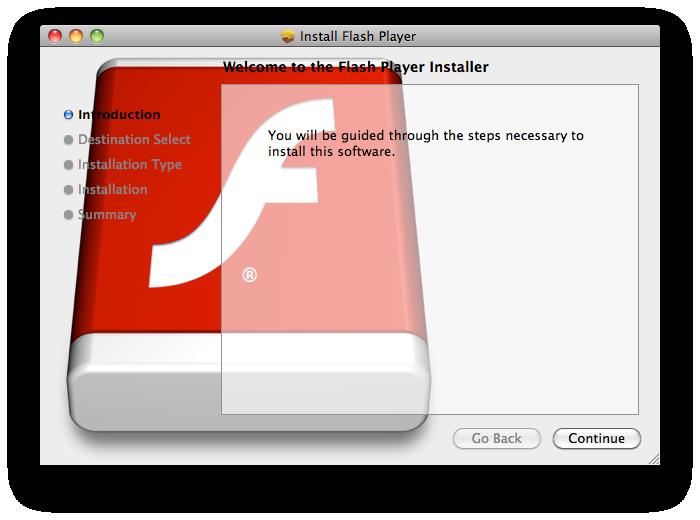 Flash Player instalador