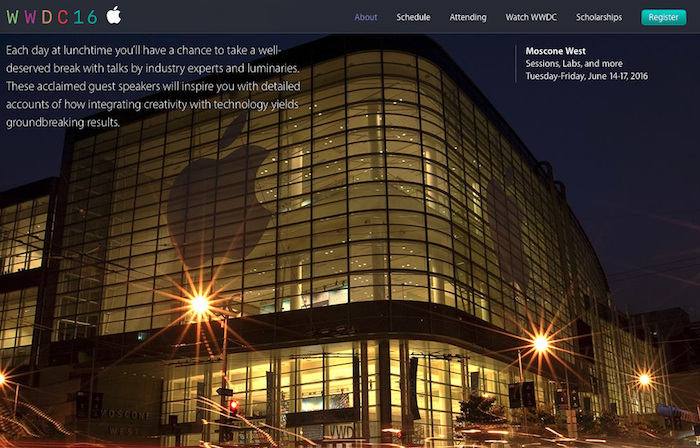 Moscone Center WWDC 2016