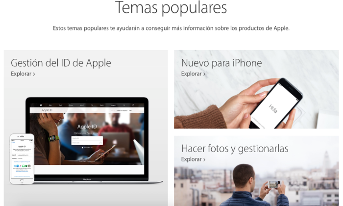 Soporte de Apple 3