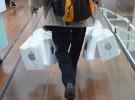 Apple sustituye sus bolsas de plástico por otras más ecológicas hechas de papel