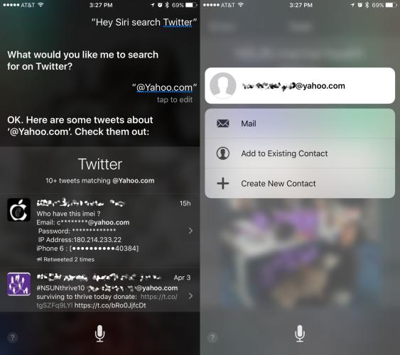 fallo Siri iOS 9.3.1