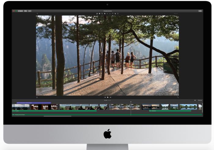 iMovie OSX
