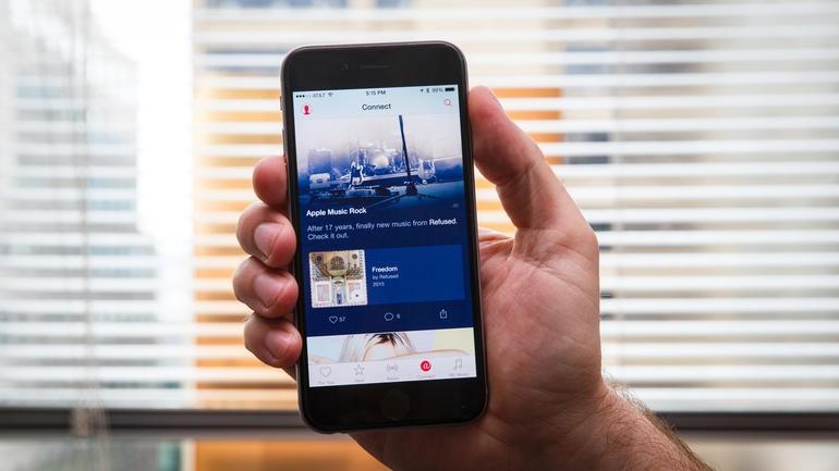 Connect perdería importancia en Apple Music con la llegada de iOS 10