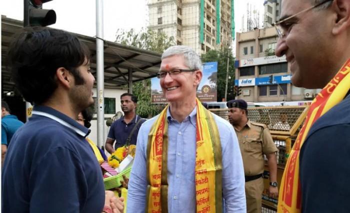 Tim Cook India