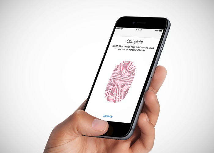 Touch ID passcode