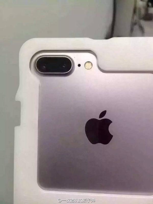 cámara trasera iPhone 7 Plus