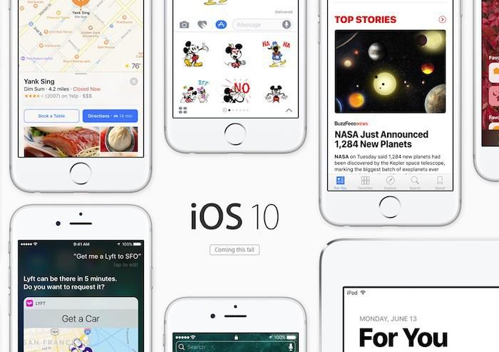 Apple presenta iOS 10. Comprueba si tu dispositivo iOS será compatible