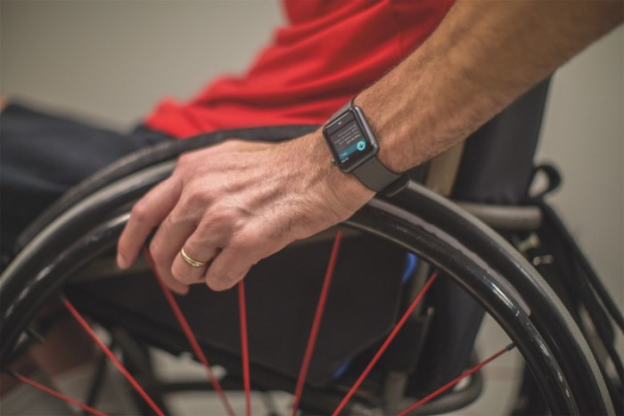 watch OS silla de ruedas