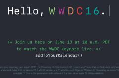 Ya está disponible la web para ver en streaming la WWDC 2016