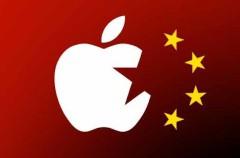 Apple demandada en China por mostrar imágenes de propaganda de guerra
