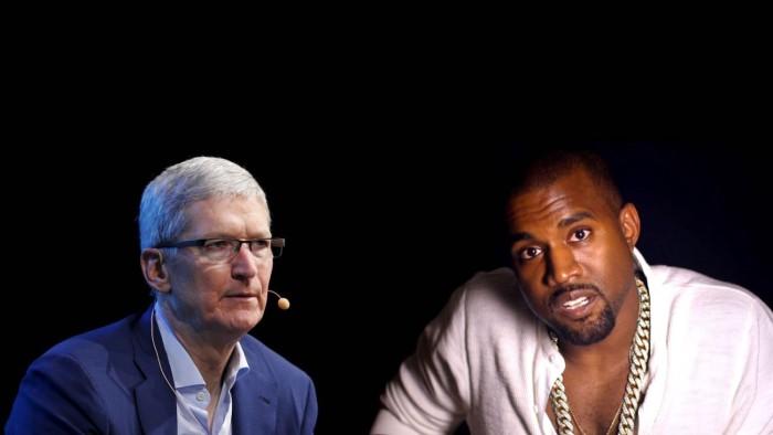 Tim Cook Kanye West