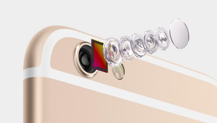 sensor imagen iPhone