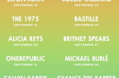 Ya sabemos cuáles serán todos los conciertos del Apple Music Festival 2016