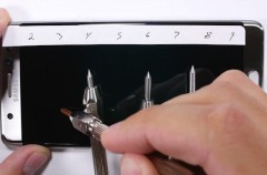 La pantalla del Samsung Galaxy Note 7 se daña más fácilmente que la de cualquier iPhone
