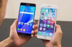El iPhone 6s también es más rápido que el Samsung Galaxy Note 7