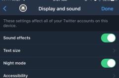 ¡Por fin! Twitter incluirá un tema oscuro en su aplicación para iOS próximamente