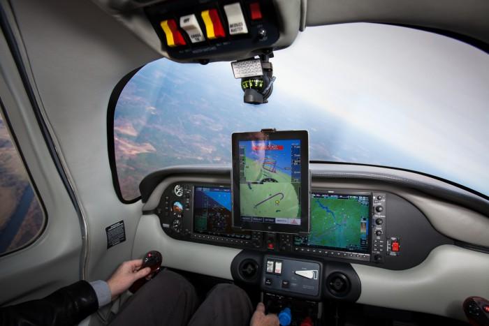 iPad avioneta