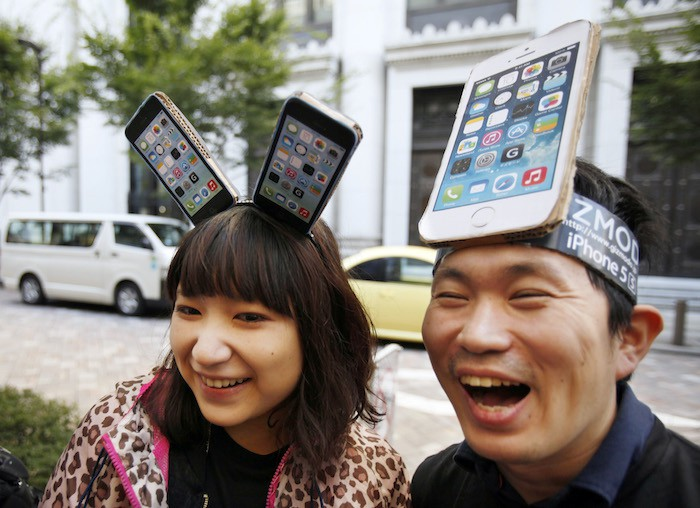 Japan Apple New iPhones