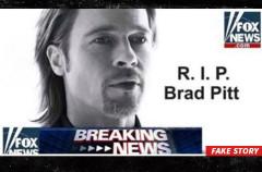 La falsa historia de la muerte de Brad Pitt que roba tus datos de Facebook