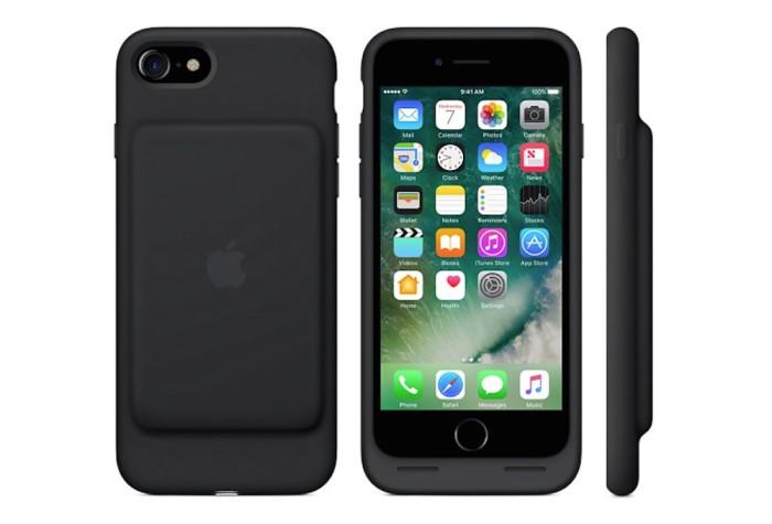 La funda Smart Battery Case para el iPhone 7 aumenta su capacidad de carga respecto a la del iPhone 6s