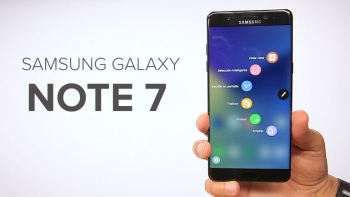 Galaxy Note 7 anuncio